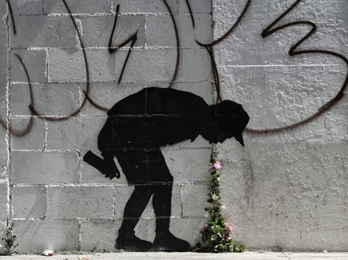 "Banksy ""Better Out Than In"" Los Angeles"