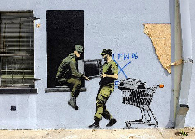 banksy in new orleans 5