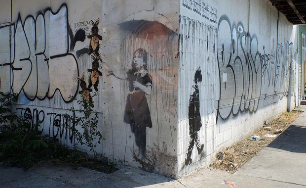 Banksy Nola New Orleans 2013