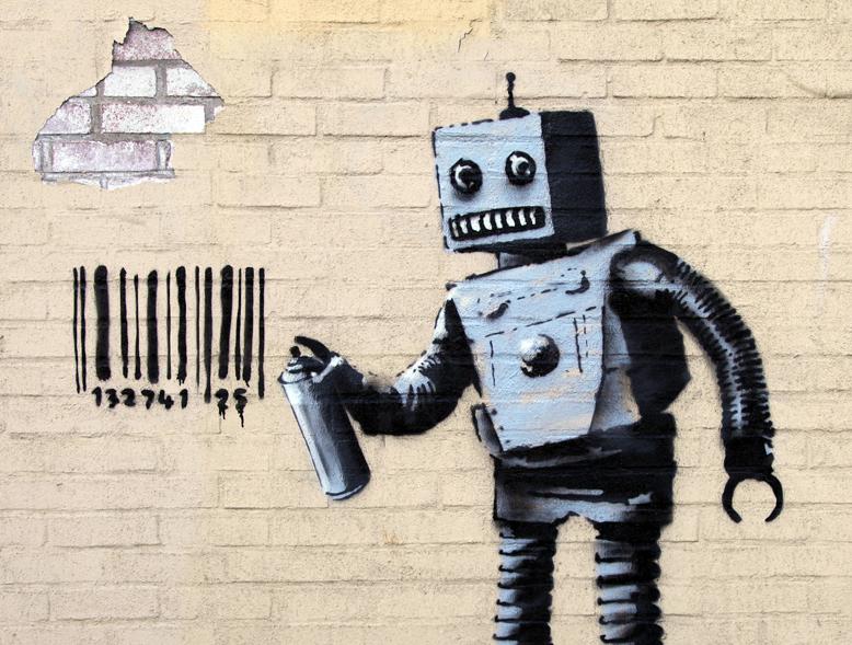 Banksy Robot Coney Island
