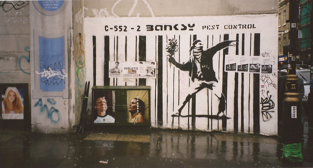 Banksy Early Rare Pieces London 200