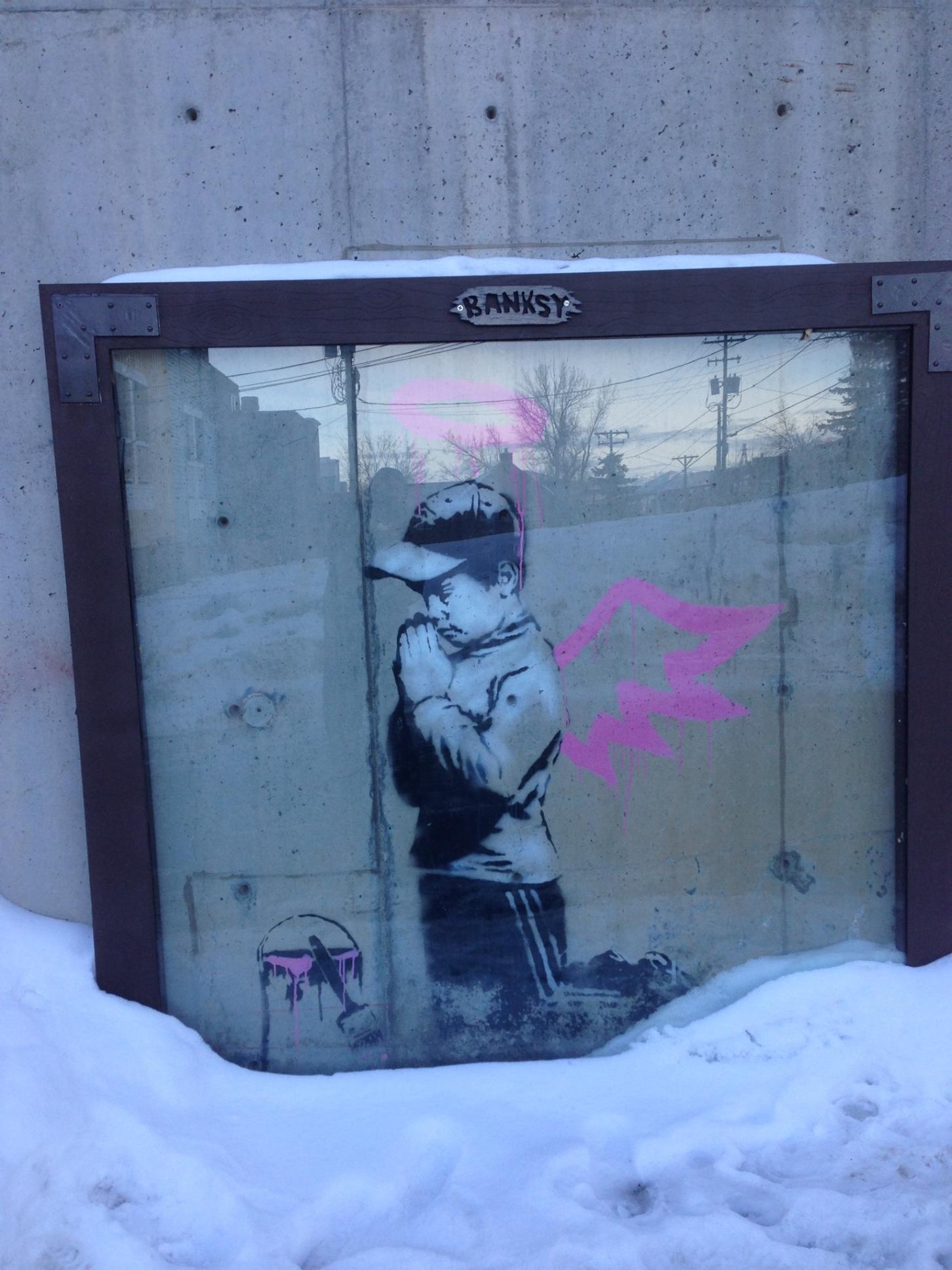 Banksy's Mural Vandali...